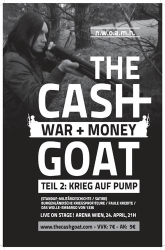 (C) The Cashgoat / The Cashgoat: War and Money Teil 2 Flyer