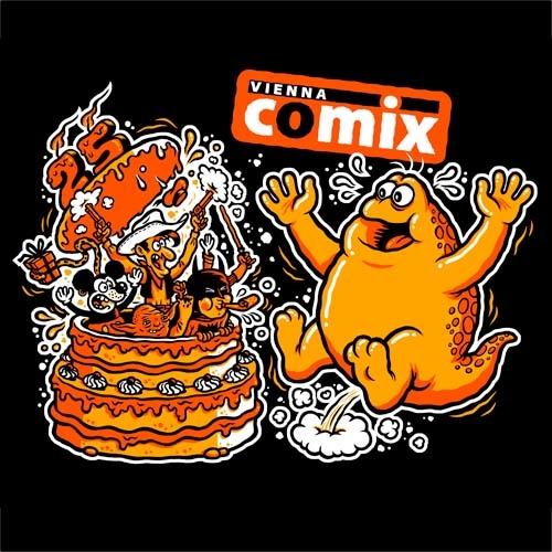 (C) Vienna Comix / 25 Jahre Vienna Comix / Zum Vergrößern auf das Bild klicken