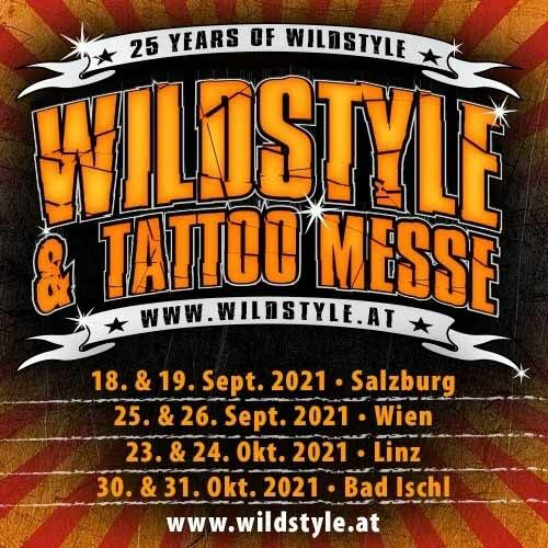 25 years Wildstyle Tattoo Messe Flyer