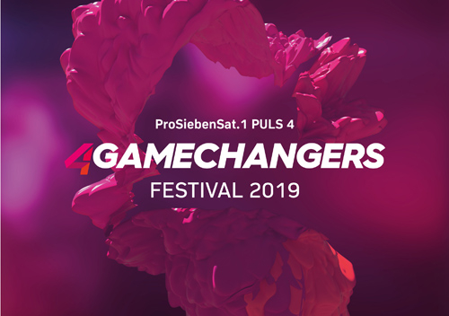 (C) 4Gamechangers Festival / 4Gamechangers Festival 2019 Logo / Zum Vergrößern auf das Bild klicken
