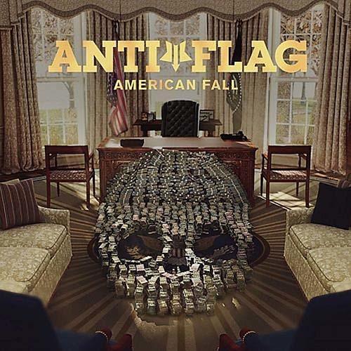 (C) Spinefarm/Caroline/Universal Music / ANTI-FLAG: American Fall / Zum Vergrößern auf das Bild klicken