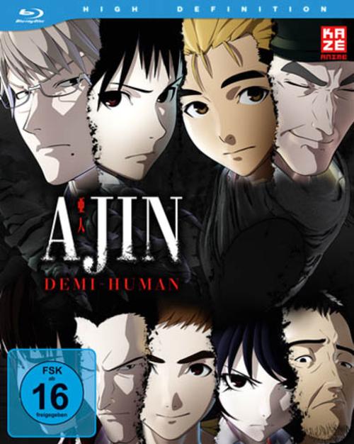 (C) KAZÉ Anime / Ajin: Demi-Human Vol. 1 / Zum Vergrößern auf das Bild klicken