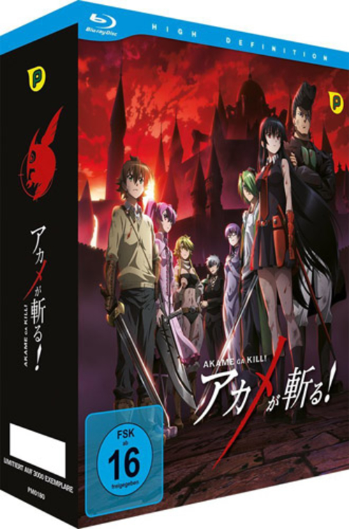 (C) peppermint anime / Akame Ga Kill! Vol. 1 / Zum Vergrößern auf das Bild klicken