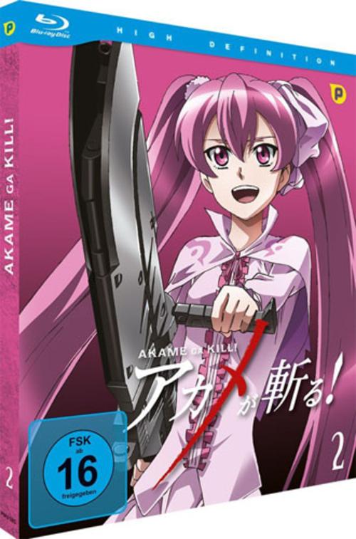 (C) peppermint anime / Akame Ga Kill! Vol. 2 / Zum Vergrößern auf das Bild klicken