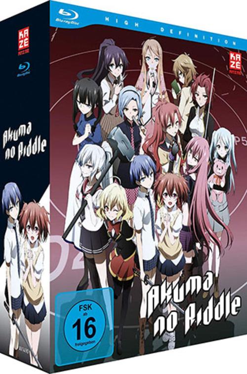 (C) KAZÉ Anime / Akuma no Riddle Gesamtausgabe / Zum Vergrößern auf das Bild klicken