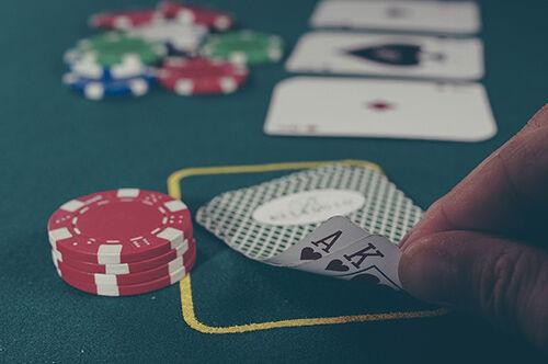 Am Pokertisch