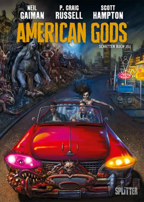 (C) Splitter Verlag / American Gods 2 / Zum Vergrößern auf das Bild klicken