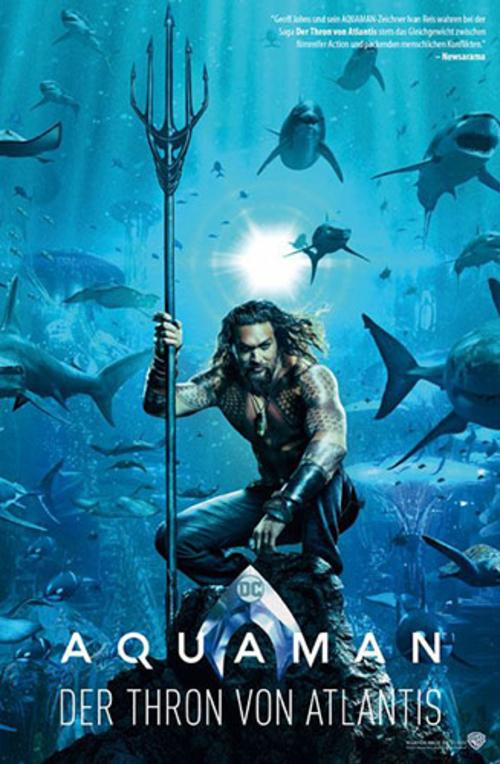 (C) Panini Comics / Aquaman: Der Thron von Atlantis / Zum Vergrößern auf das Bild klicken