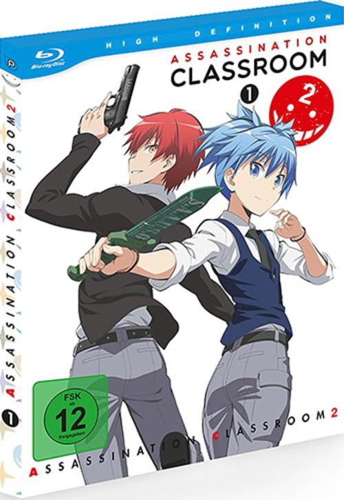 (C) peppermint anime / Assassination Classroom 2 Vol. 1 / Zum Vergrößern auf das Bild klicken