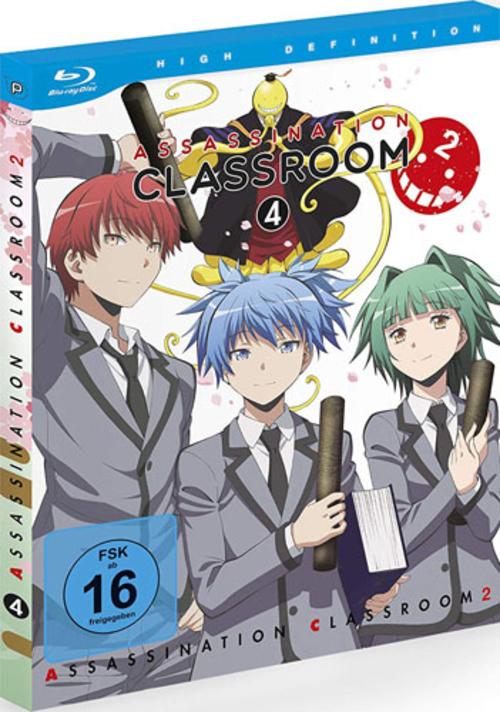 (C) peppermint anime / Assassination Classroom 2 Vol. 4 / Zum Vergrößern auf das Bild klicken