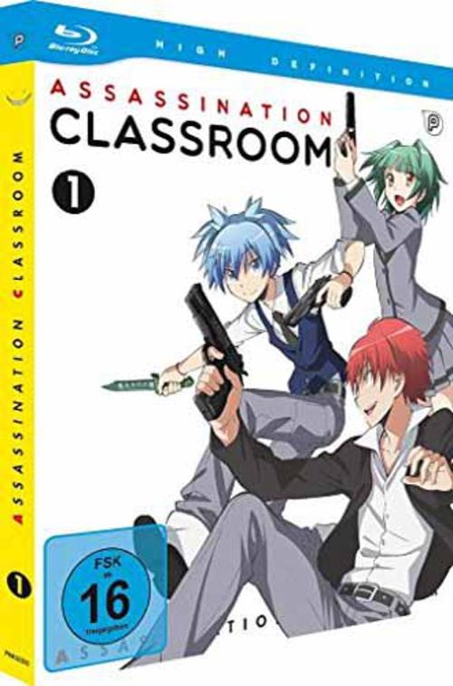 (C) peppermint anime / Assassination Classroom Vol. 1 / Zum Vergrößern auf das Bild klicken