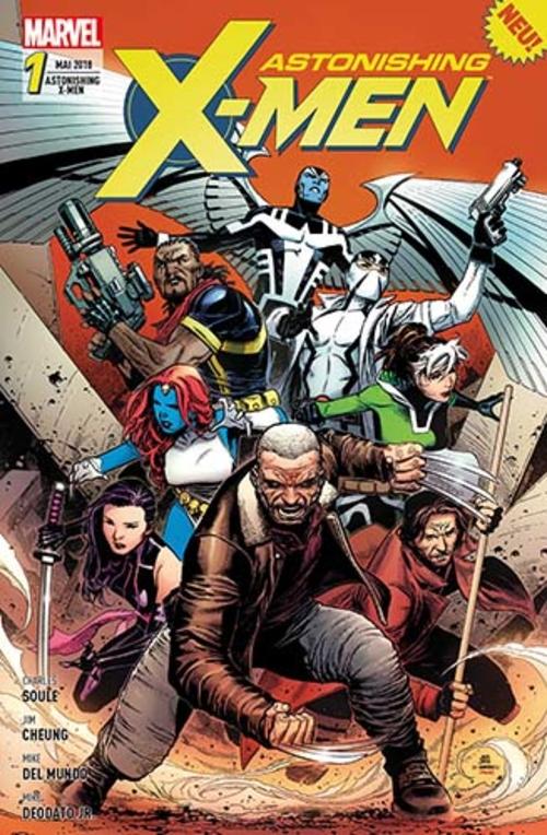 (C) Panini Comics / Astonishing X-Men 1 / Zum Vergrößern auf das Bild klicken
