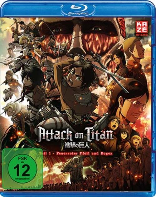 (C) KAZÉ Anime / Attack on Titan - Anime Movie Teil 1 / Zum Vergrößern auf das Bild klicken