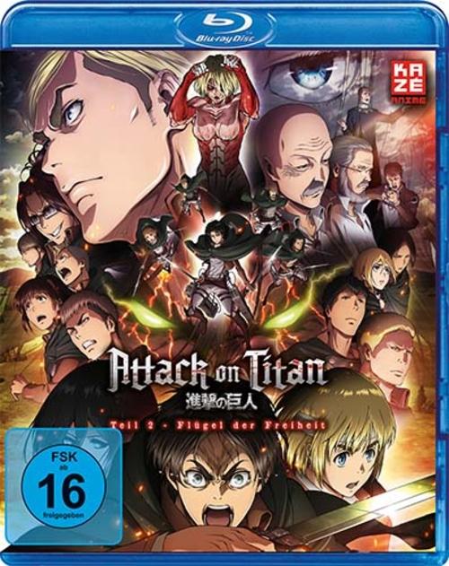 (C) KAZÉ Anime / Attack on Titan - Anime Movie Teil 2 / Zum Vergrößern auf das Bild klicken