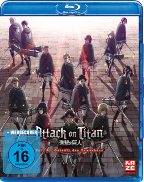 (C) KAZÉ Anime / Attack on Titan - Anime Movie Teil 3 / Zum Vergrößern auf das Bild klicken