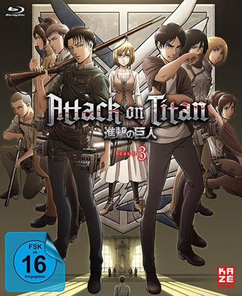 Attack on Titan Season 3 Vol. 1