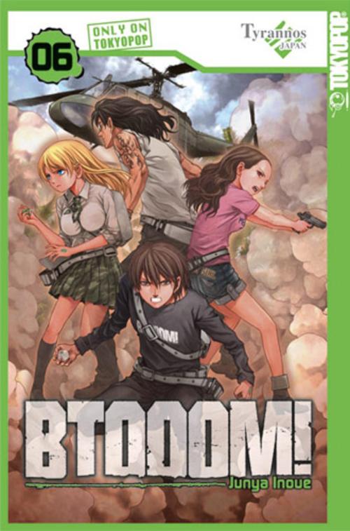 (C) Tokyopop / BTOOOM! 6 / Zum Vergrößern auf das Bild klicken