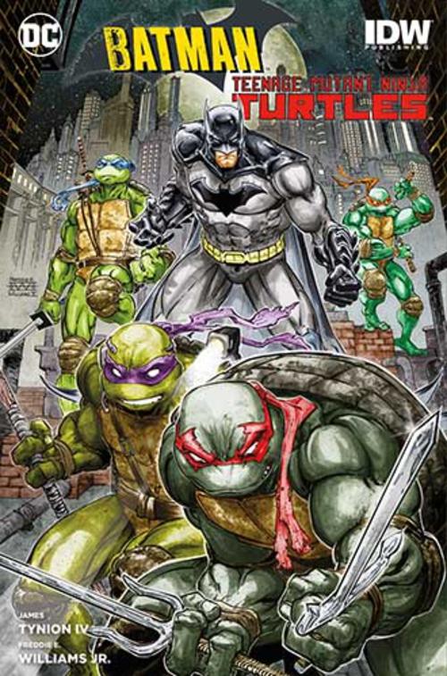 (C) Panini Comics / Batman/Teenage Mutant Ninja Turtles / Zum Vergrößern auf das Bild klicken