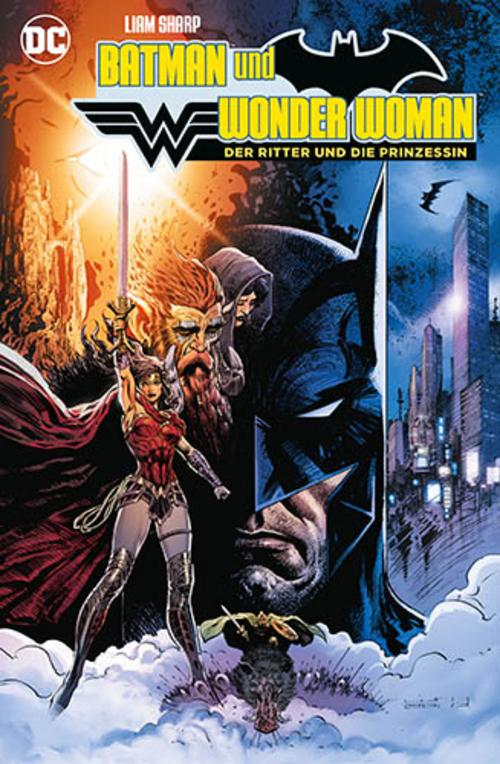 (C) Panini Comics / Batman und Wonder Woman: Der Ritter und die Prinzessin / Zum Vergrößern auf das Bild klicken
