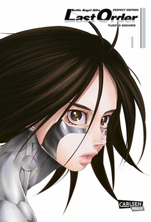 (C) Carlsen Verlag / Battle Angel Alita - Last Order - Perfect Edition 1 / Zum Vergrößern auf das Bild klicken