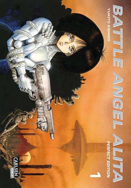 (C) Carlsen Verlag / Battle Angel Alita - Perfect Edition 1 / Zum Vergrößern auf das Bild klicken
