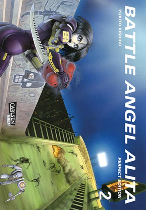 (C) Carlsen Verlag / Battle Angel Alita - Perfect Edition 2 / Zum Vergrößern auf das Bild klicken