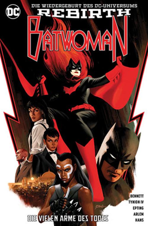 (C) Panini Comics / Batwoman 1 / Zum Vergrößern auf das Bild klicken