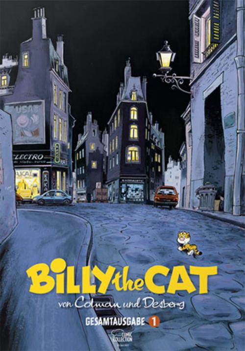 (C) Egmont Comic Collection / Billy the Cat Gesamtausgabe 1 / Zum Vergrößern auf das Bild klicken