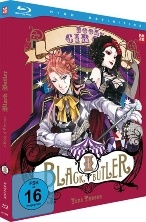 (C) KAZÉ Anime / Black Butler Season 3 Vol. 2 / Zum Vergrößern auf das Bild klicken