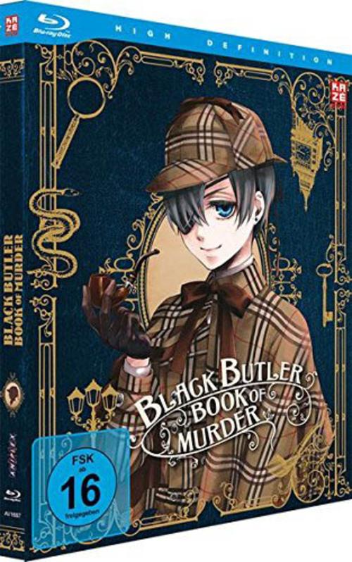 (C) KAZÉ Anime / Black Butler Season 3 Vol. 3 / Zum Vergrößern auf das Bild klicken