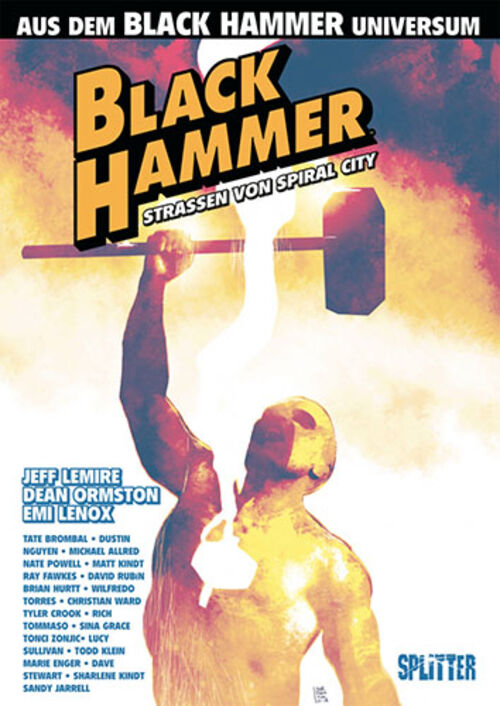(C) Splitter Verlag / Black Hammer: Straßen von Spiral City / Zum Vergrößern auf das Bild klicken