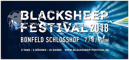 (C) Blacksheep Festival / Blacksheep Festival 2018 Logo / Zum Vergrößern auf das Bild klicken