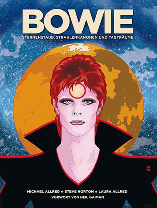 (C) Cross Cult Verlag / Bowie: Sternenstaub, Strahlenkanonen und Tagträume / Zum Vergrößern auf das Bild klicken