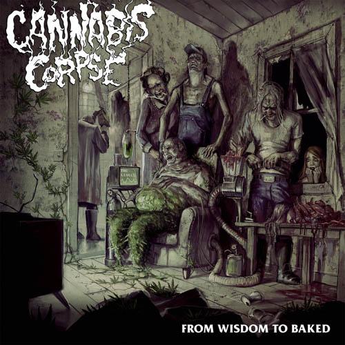 (C) Season of Mist / CANNABIS CORPSE: From Wisdom To Baked / Zum Vergrößern auf das Bild klicken