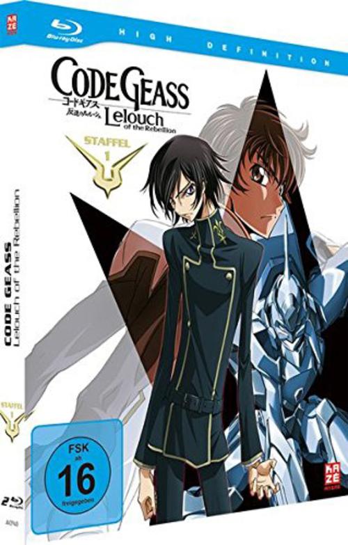 (C) KAZÉ Anime / Code Geass: Lelouch of the Rebellion Season 1 Gesamtausgabe / Zum Vergrößern auf das Bild klicken
