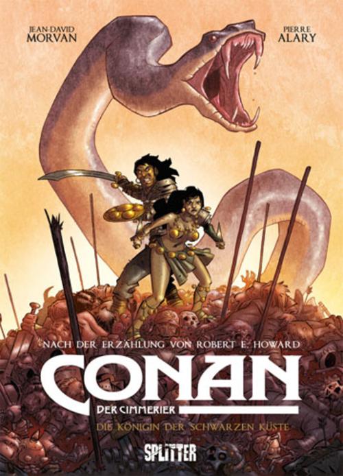 (C) Splitter Verlag / Conan der Cimmerier 1 / Zum Vergrößern auf das Bild klicken
