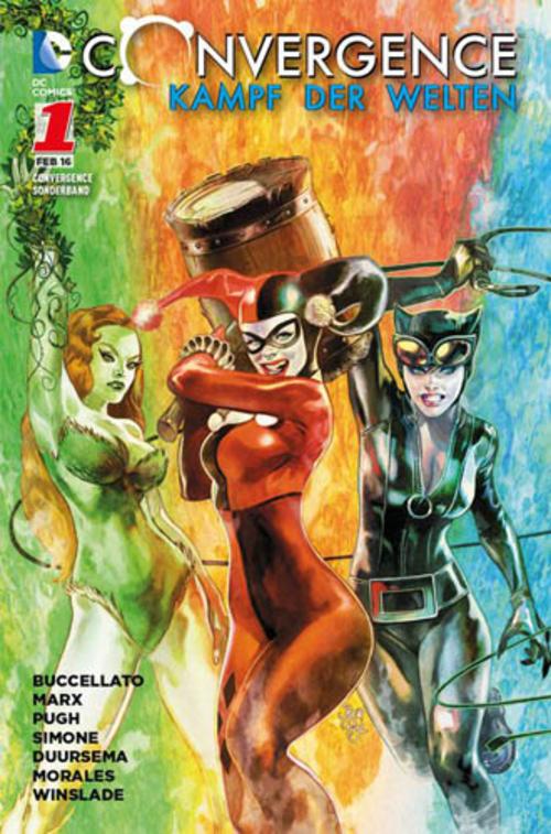 (C) Panini Comics / Convergence – Kampf der Welten Sonderband 1 / Zum Vergrößern auf das Bild klicken