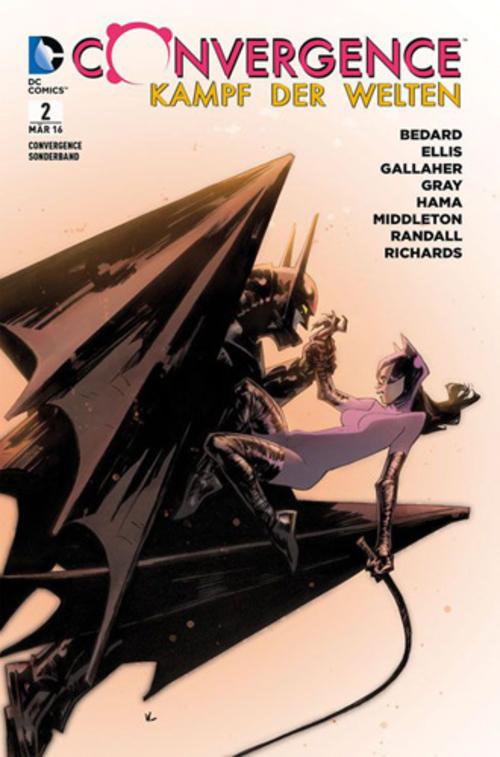 (C) Panini Comics / Convergence - Kampf der Welten Sonderband 2 / Zum Vergrößern auf das Bild klicken