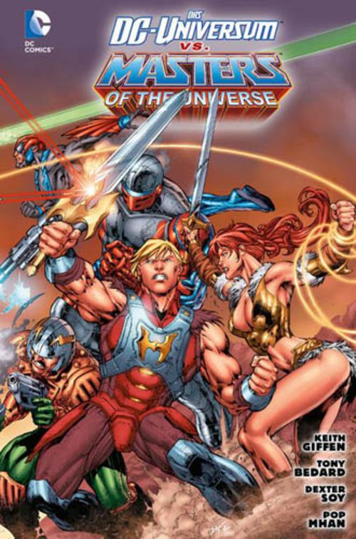 (C) Panini Comics / Das DC-Universum vs. Masters of the Universe / Zum Vergrößern auf das Bild klicken