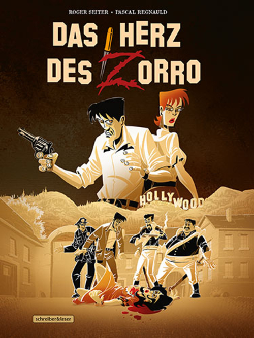(C) Schreiber & Leser / Das Herz des Zorro / Zum Vergrößern auf das Bild klicken