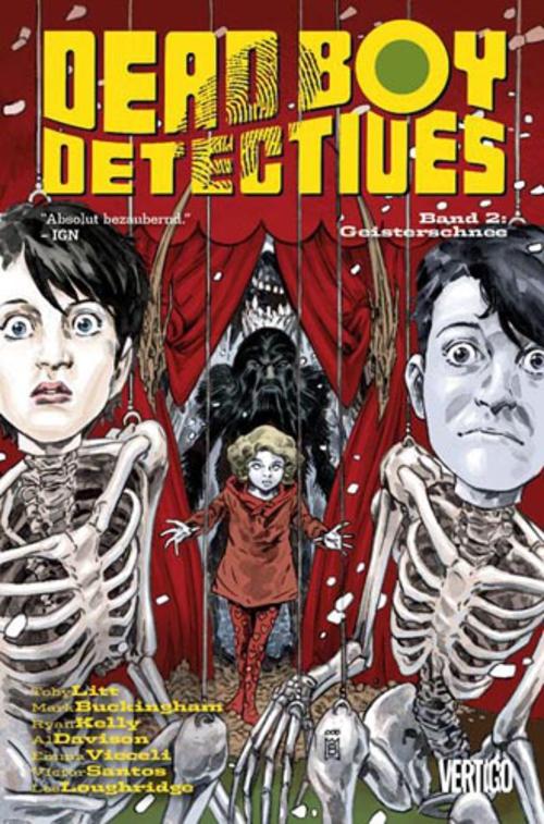 (C) Panini Comics / Dead Boy Detectives 2 / Zum Vergrößern auf das Bild klicken