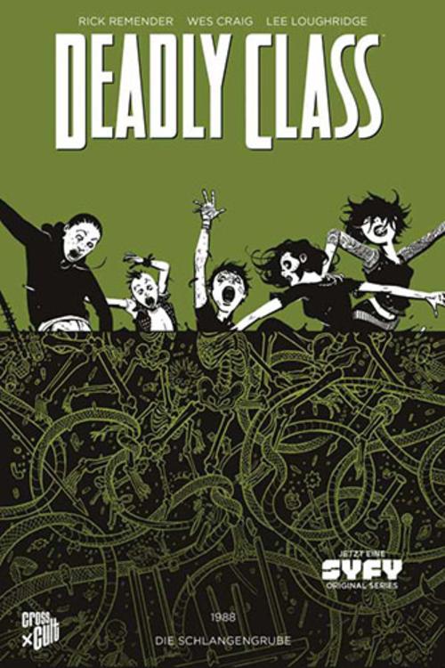(C) Cross Cult Verlag / Deadly Class 3 / Zum Vergrößern auf das Bild klicken