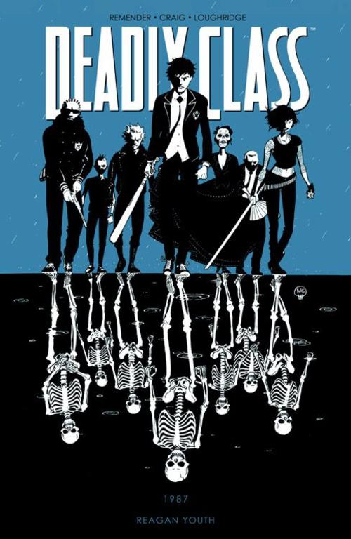 (C) Panini Comics / Deadly Class - Tödliches Klassenzimmer 1 / Zum Vergrößern auf das Bild klicken