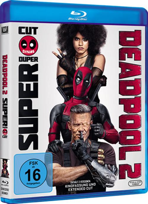 (C) 2018 Twentieth Century Fox Home Entertainment / Deadpool 2 / Zum Vergrößern auf das Bild klicken