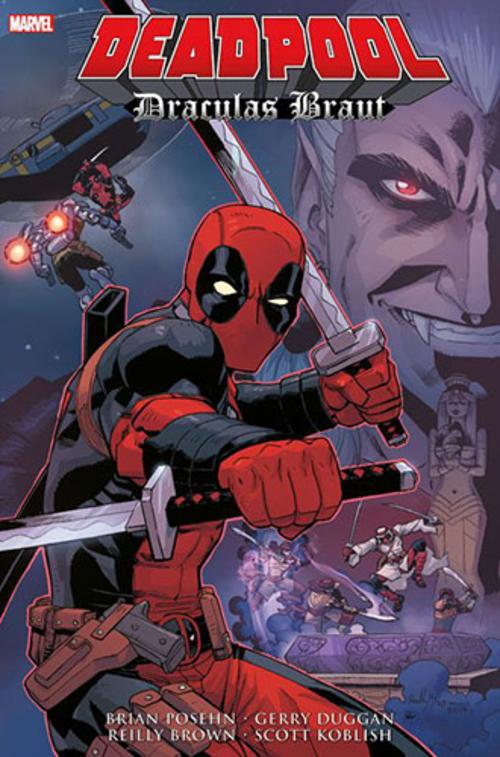 (C) Panini Comics / Deadpool: Draculas Braut / Zum Vergrößern auf das Bild klicken