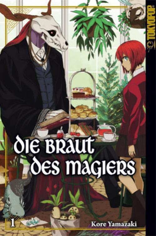 (C) Tokyopop / Die Braut des Magiers 1 / Zum Vergrößern auf das Bild klicken