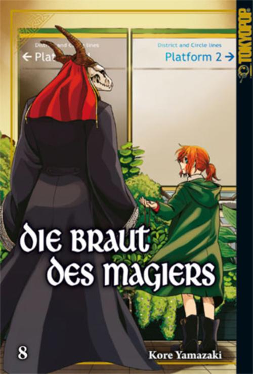 (C) Tokyopop / Die Braut des Magiers 8 / Zum Vergrößern auf das Bild klicken