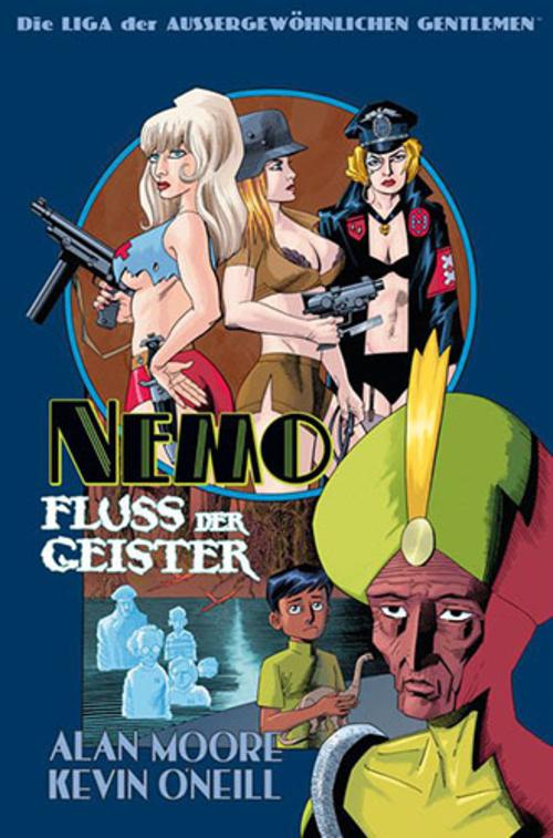(C) Panini Comics / Die Liga der außergewöhnlichen Gentlemen: Nemo - Fluss der Geister / Zum Vergrößern auf das Bild klicken
