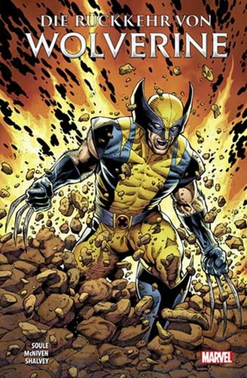 (C) Panini Comics / Die Rückkehr von Wolverine / Zum Vergrößern auf das Bild klicken