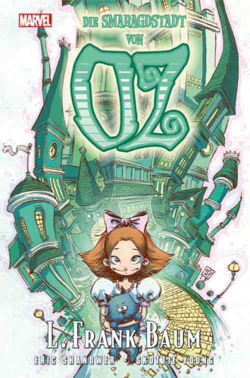 (C) Panini Comics / Die Smaragdstadt von Oz / Zum Vergrößern auf das Bild klicken